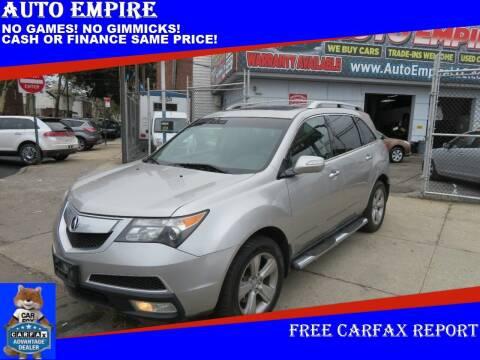 2011 Acura MDX for sale at Auto Empire in Brooklyn NY