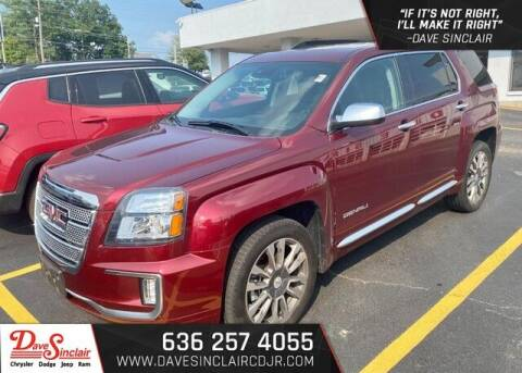 2017 GMC Terrain for sale at Dave Sinclair Chrysler Dodge Jeep Ram in Pacific MO