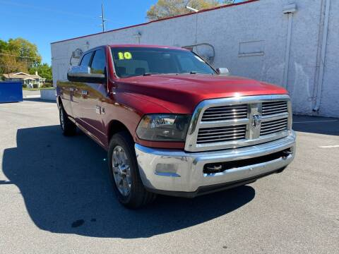 2010 Dodge Ram Pickup 2500 for sale at LUXURY AUTO MALL in Tampa FL