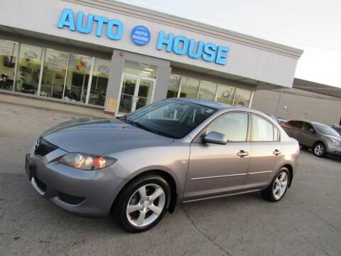 2005 Mazda MAZDA3 for sale at Auto House Motors in Downers Grove IL