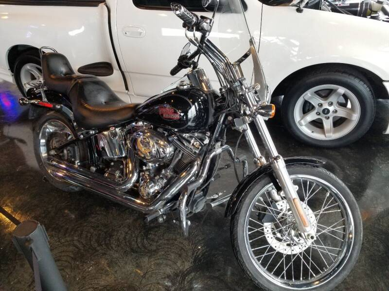 2007 Harley Davidson FXSTC for sale at ROSSTEN AUTO SALES in Grand Forks ND
