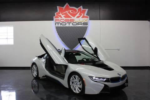 2016 BMW i8 for sale at RoseLux Motors LLC in Schnecksville PA