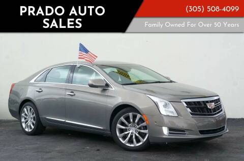 2017 Cadillac XTS for sale at Prado Auto Sales in Miami FL