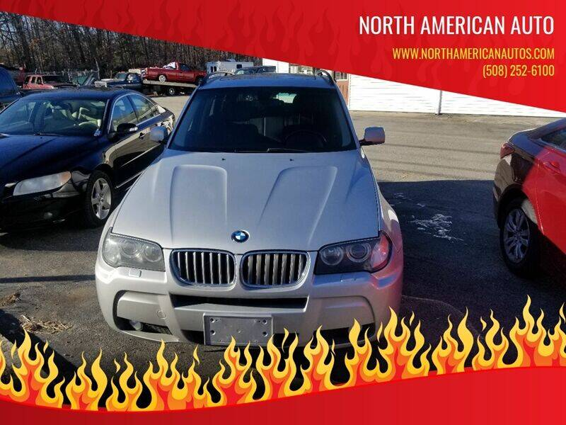 2008 BMW X3 for sale at North American Auto in Rehoboth MA