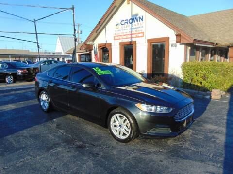 2015 Ford Fusion for sale at Crown Used Cars in Oklahoma City OK