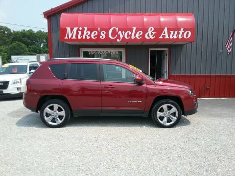 2014 Jeep Compass for sale at MIKE'S CYCLE & AUTO in Connersville IN