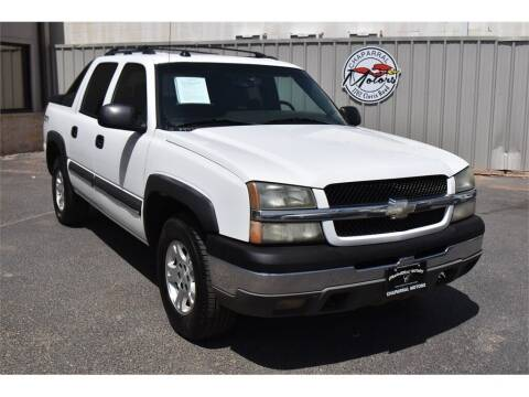 2004 Chevrolet Avalanche for sale at Chaparral Motors in Lubbock TX