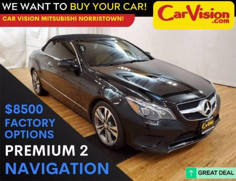 2016 Mercedes-Benz E-Class for sale at Car Vision Mitsubishi Norristown in Trooper PA