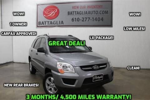 2010 Kia Sportage for sale at Battaglia Auto Sales in Plymouth Meeting PA