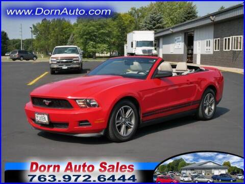2011 Ford Mustang for sale at Jim Dorn Auto Sales in Delano MN