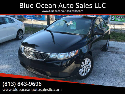 2013 Kia Forte for sale at Blue Ocean Auto Sales LLC in Tampa FL