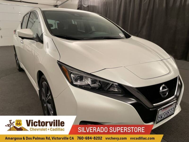 2021 Nissan LEAF for sale in Victorville, CA