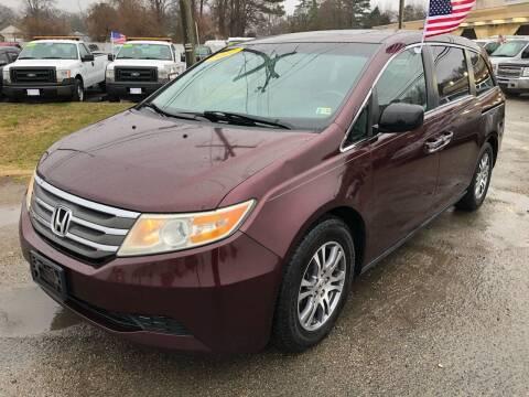 2012 Honda Odyssey for sale at Mega Autosports in Chesapeake VA