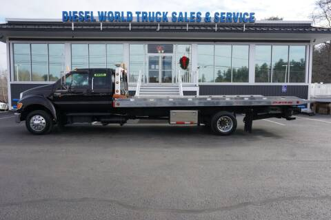 2006 Ford F-650 Super Duty for sale at Diesel World Truck Sales in Plaistow NH