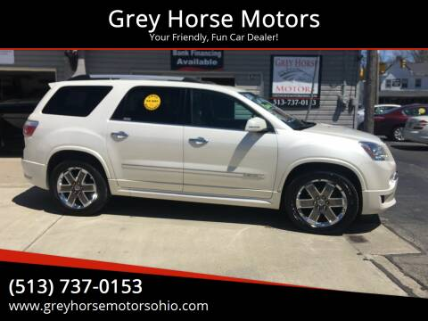 2011 GMC Acadia for sale at Grey Horse Motors in Hamilton OH