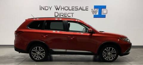 2016 Mitsubishi Outlander for sale at Indy Wholesale Direct in Carmel IN