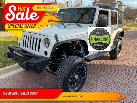 2010 Jeep Wrangler Unlimited for sale at RIVER AUTO SALES CORP in Maywood IL