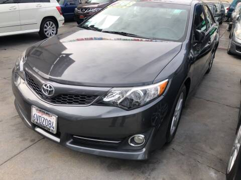 2012 Toyota Camry for sale at Excelsior Motors , Inc in San Francisco CA