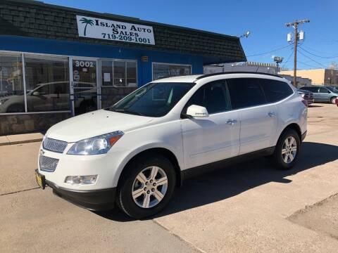 2012 Chevrolet Traverse for sale at Island Auto Sales in Colorado Springs CO