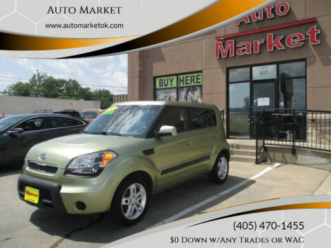 2010 Kia Soul for sale at Auto Market in Oklahoma City OK