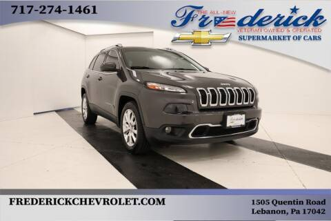 2015 Jeep Cherokee for sale at Lancaster Pre-Owned in Lancaster PA