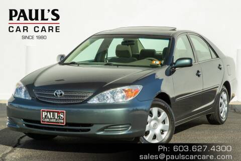 2004 Toyota Camry for sale at Paul's Car Care in Manchester NH