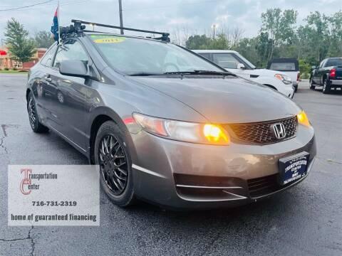 2011 Honda Civic for sale at Transportation Center Of Western New York in Niagara Falls NY