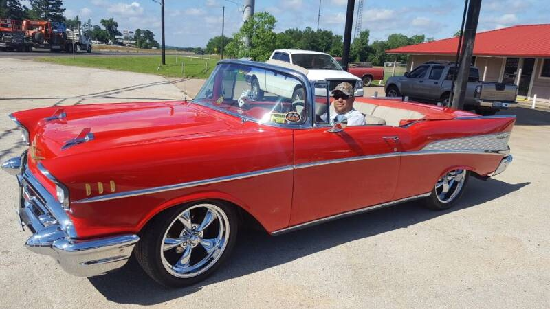 1957 Chevrolet Bel Air roadster for sale at COLLECTABLE-CARS LLC in Nacogdoches TX