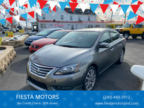 2015 Nissan Sentra for sale at FIESTA MOTORS in Hagerstown MD