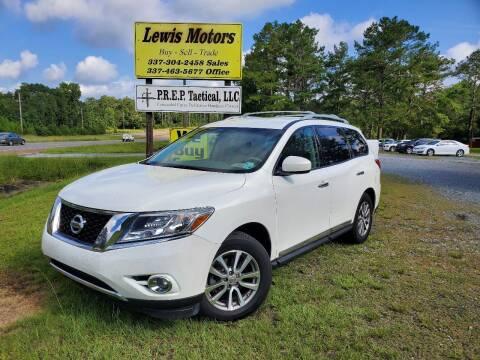 2013 Nissan Pathfinder for sale at Lewis Motors LLC in Deridder LA