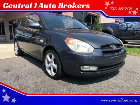 2007 Hyundai Accent for sale at Central 1 Auto Brokers in Virginia Beach VA