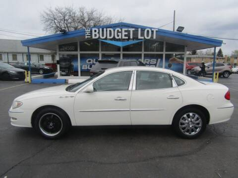 2009 Buick LaCrosse for sale at THE BUDGET LOT in Detroit MI
