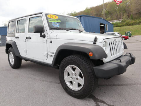 2016 Jeep Wrangler Unlimited for sale at Viles Automotive in Knoxville TN