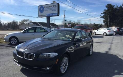 2011 BMW 5 Series for sale at R J Cackovic Auto Sales, Service & Rental in Harrisburg PA