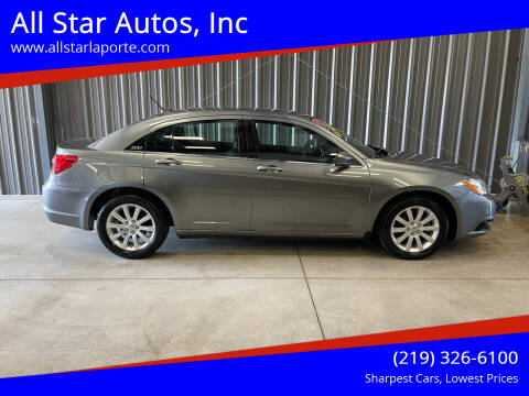 2013 Chrysler 200 for sale at All Star Autos, Inc in La Porte IN