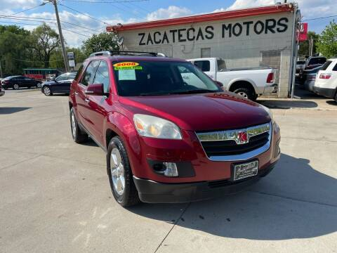 2008 Saturn Outlook for sale at Zacatecas Motors Corp in Des Moines IA