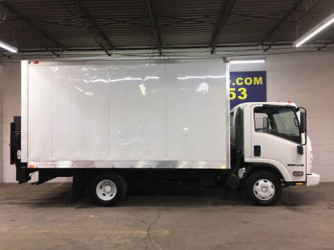 2013 Isuzu NPR Box Truck 6.0L V8 Gas w/To for sale at DKR Trucks in Arlington TX
