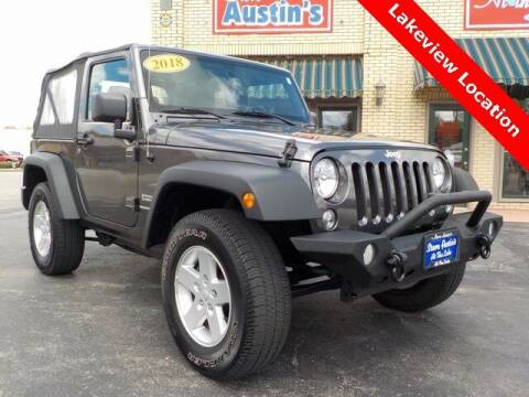 2018 Jeep Wrangler JK for sale at Austins At The Lake in Lakeview OH