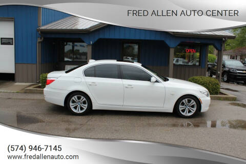 2009 BMW 5 Series for sale at Fred Allen Auto Center in Winamac IN