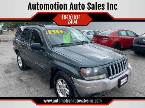2004 Jeep Grand Cherokee for sale at Automotion Auto Sales Inc in Kingston NY
