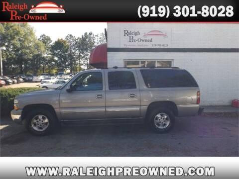 2003 Chevrolet Suburban for sale at Raleigh Pre-Owned in Raleigh NC