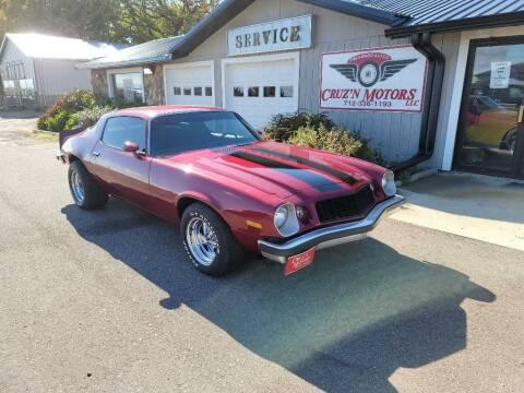 1976 Chevrolet Camaro for sale at CRUZ'N MOTORS - Classics in Spirit Lake IA