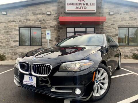 2016 BMW 5 Series for sale at GREENVILLE AUTO & RV in Greenville WI