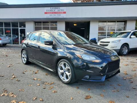 2014 Ford Focus for sale at Landes Family Auto Sales in Attleboro MA