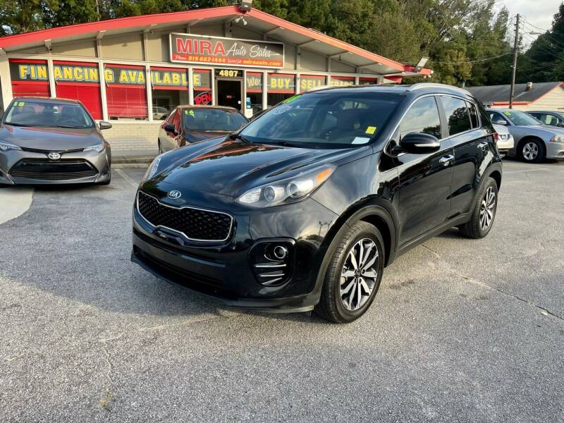 2018 Kia Sportage for sale at Mira Auto Sales in Raleigh NC