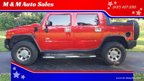 2005 HUMMER H2 SUT for sale at M & M Auto Sales in Hillsboro OH