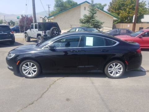2015 Chrysler 200 for sale at Freds Auto Sales LLC in Carson City NV