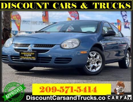 2003 Dodge Neon for sale at Discount Cars & Trucks in Modesto CA
