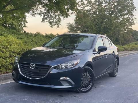 2015 Mazda MAZDA3 for sale at William D Auto Sales in Norcross GA