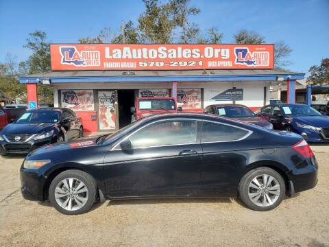 2008 Honda Accord for sale at LA Auto Sales in Monroe LA